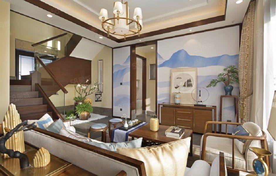 蓝城观云小镇,精装修中式合院别墅,花园230平,自带高尔夫视