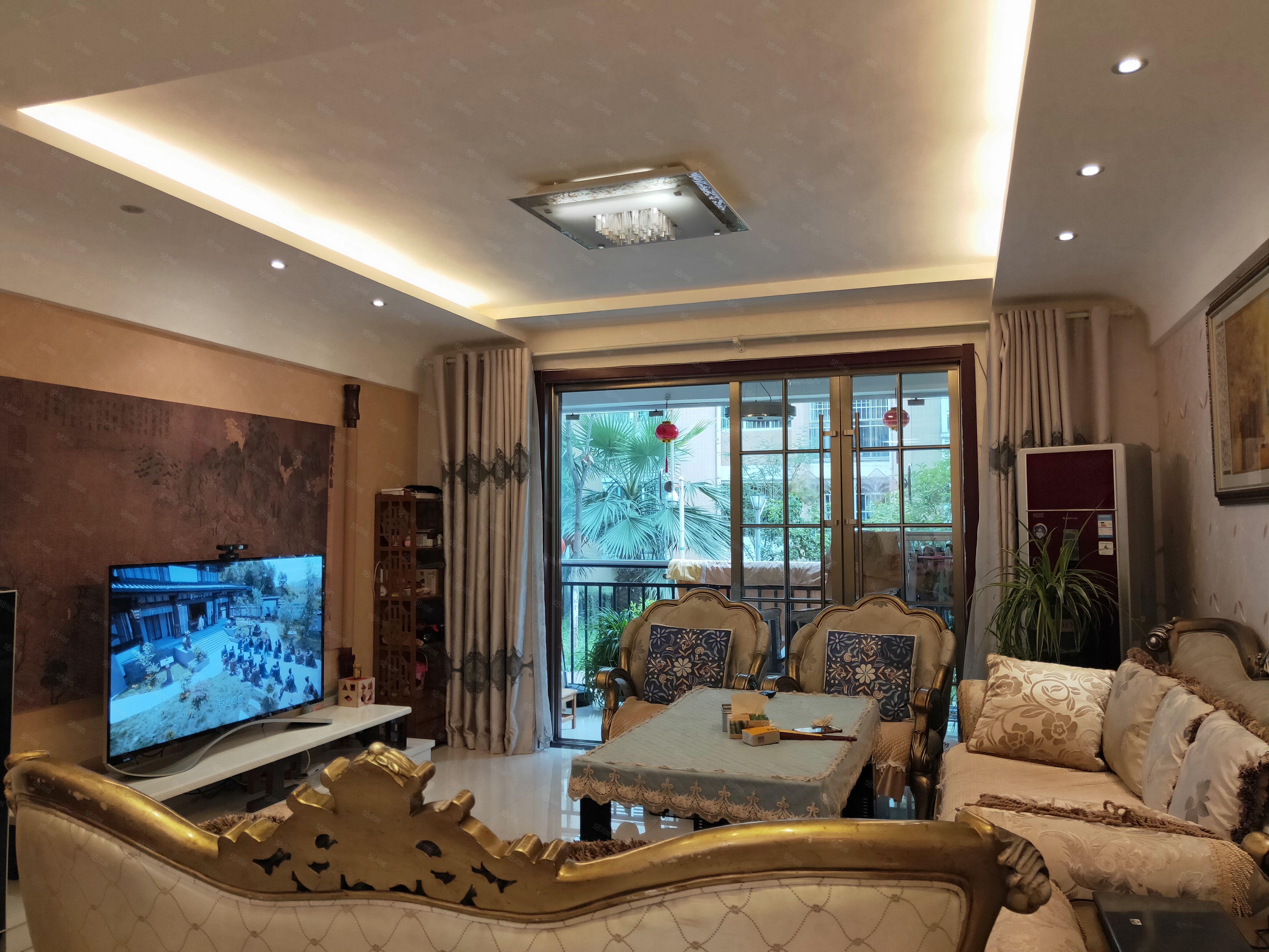 福临国际一楼141平方四室两厅两卫全新精装仅53.8万