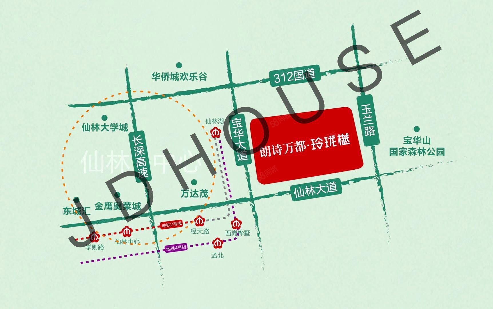 仙林東朗詩萬都玲瓏樾萬達茂周邊南京東品質住宅