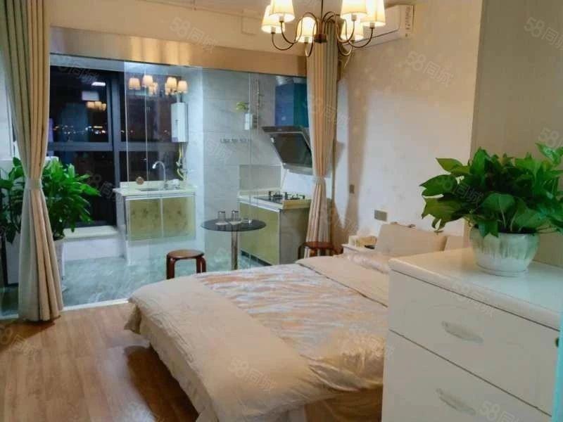 世纪领寓精装公寓,落地窗,布局,装修好