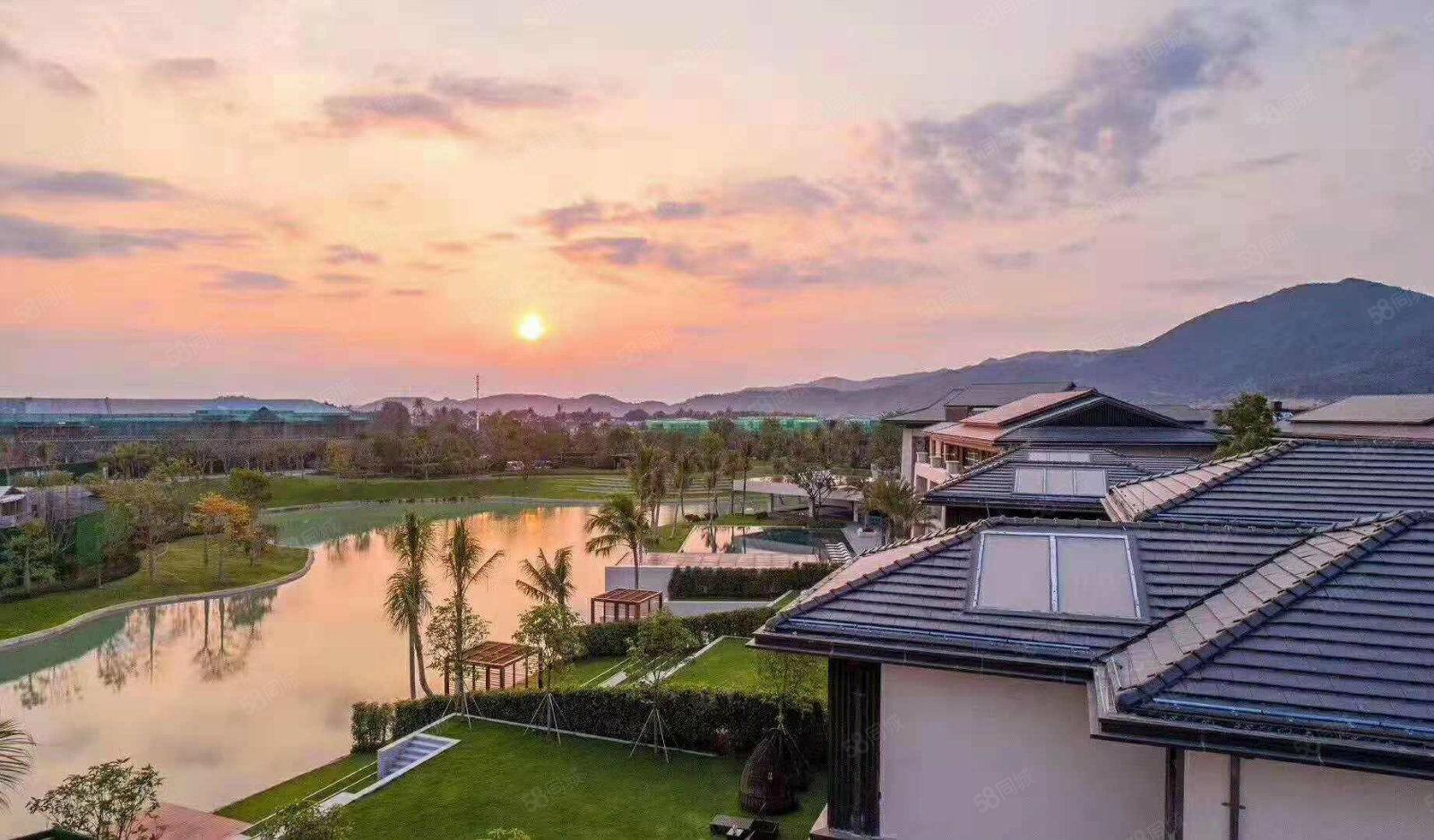 5.1特價,海棠灣高端別墅,融創品質,一線海景,私密度超高!
