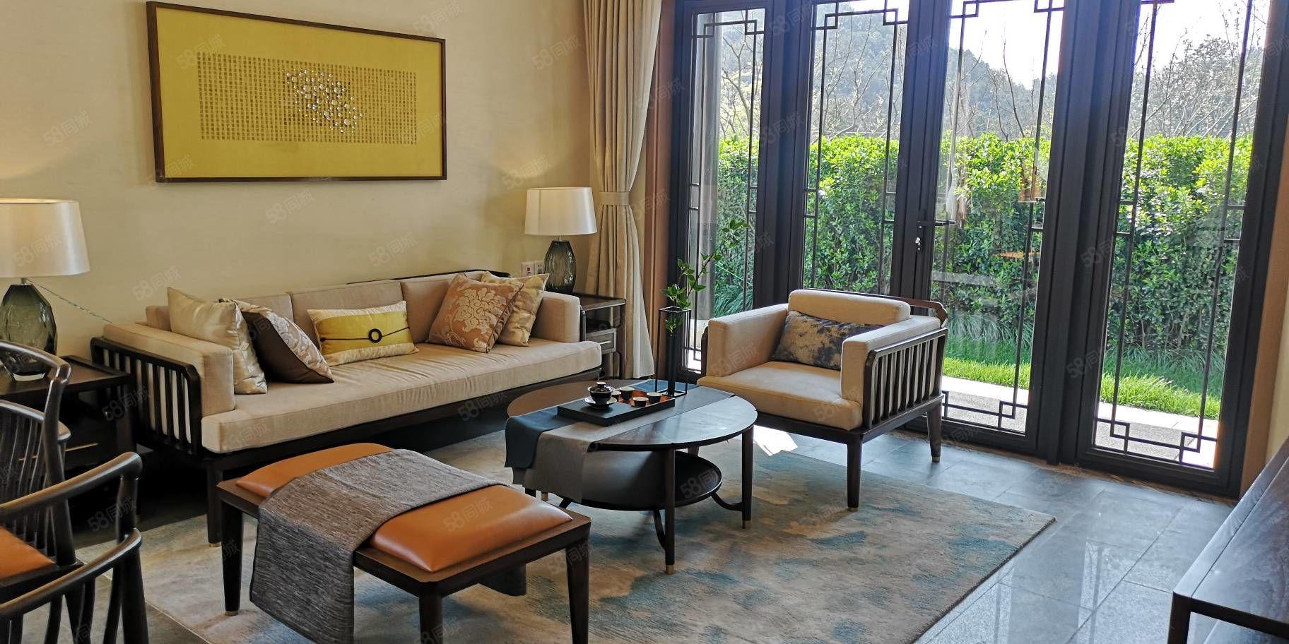 急售仅此一套融创莫干溪谷中式精装独栋别墅,花园219平