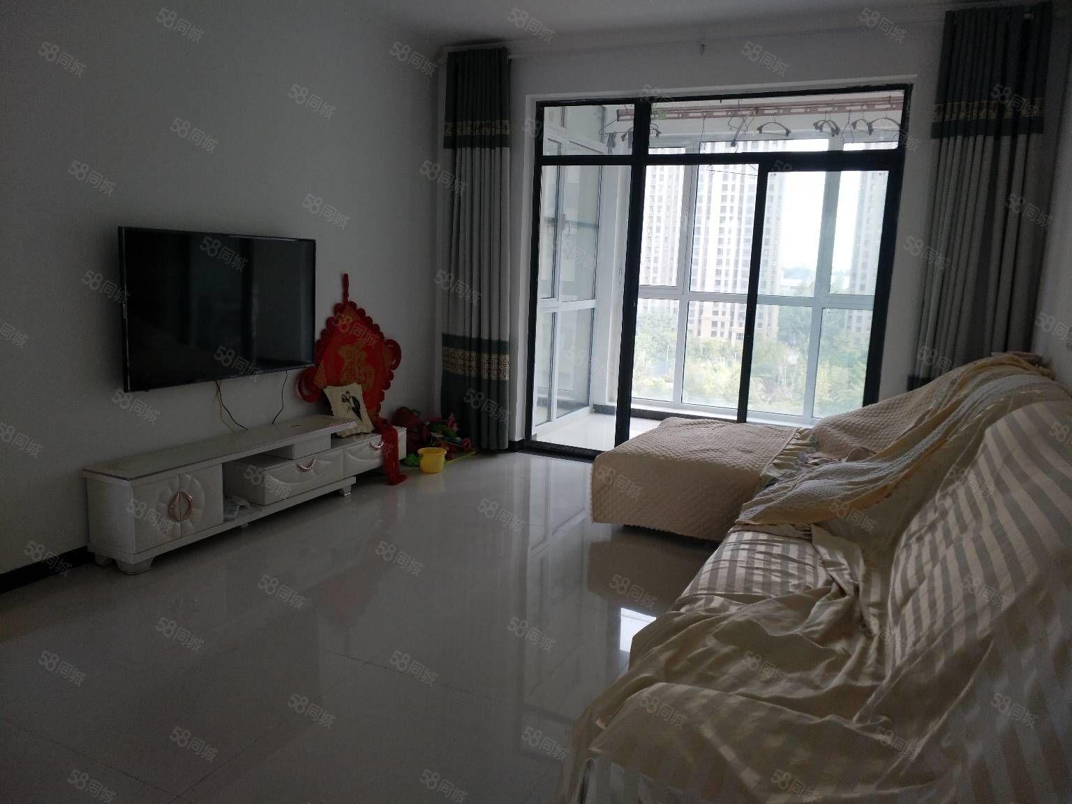 建业壹号城邦10楼精装修一室客厅朝阳南北通透证满2年