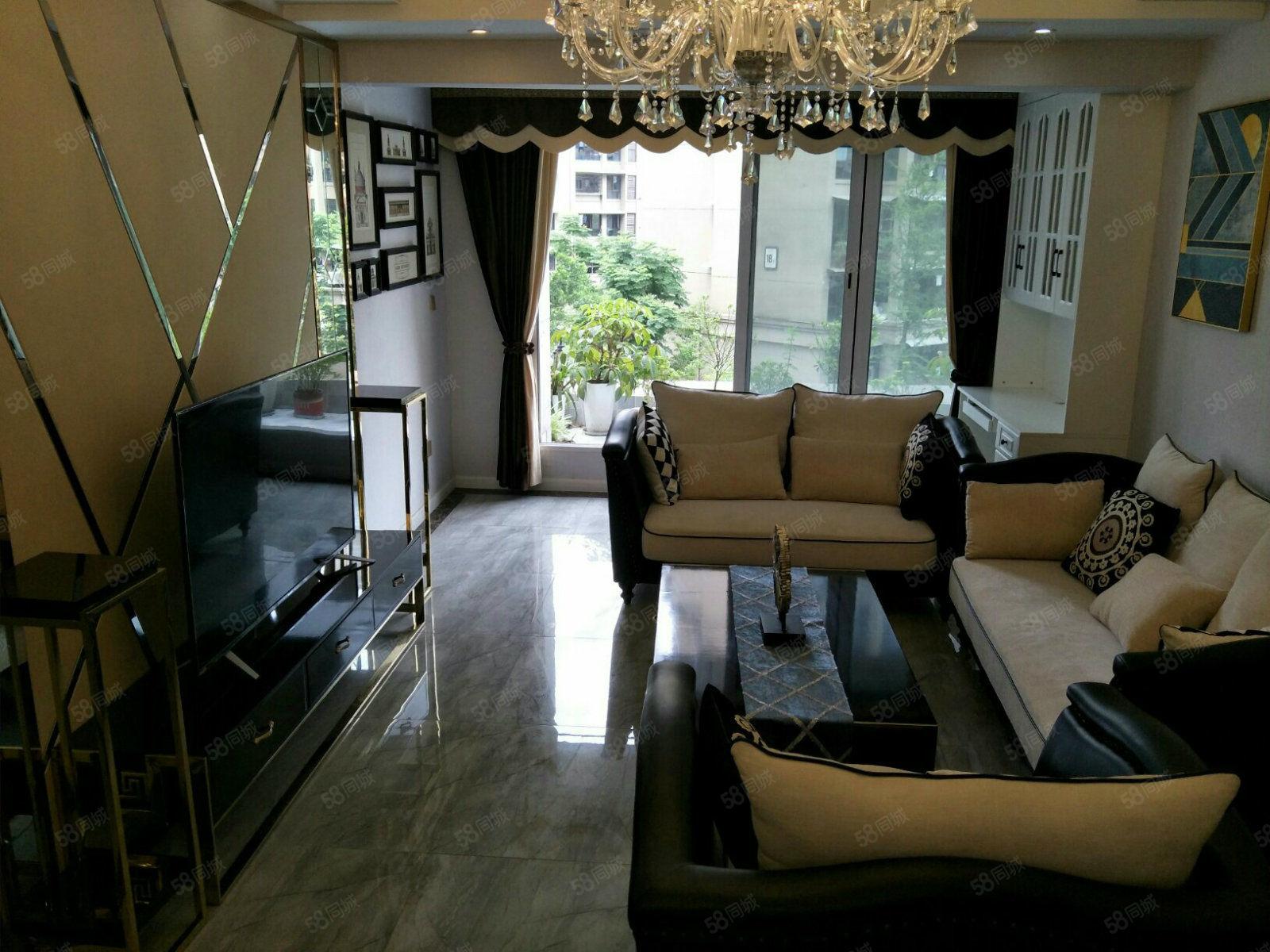 南湖公園紫荊城邦旁泰豐國際城精裝三房帶平臺花園房出售