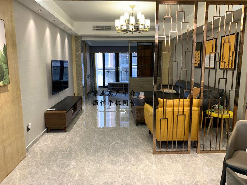 南国明珠二期电梯5楼,全新高档装修未入住136平方出售