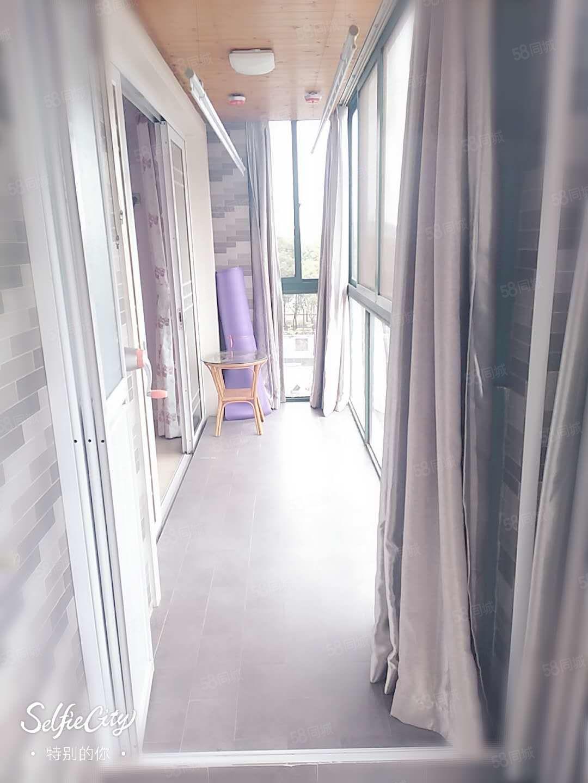 我家山水惠風苑,2室2廳雙陽臺,清爽高裝修,陽光燦爛無遮擋,