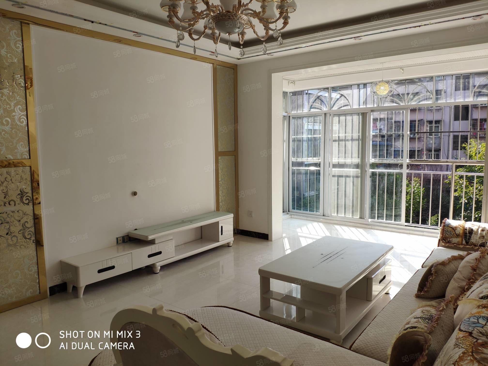 60米大街颐和花园3楼现浇精装3室2厅2卫