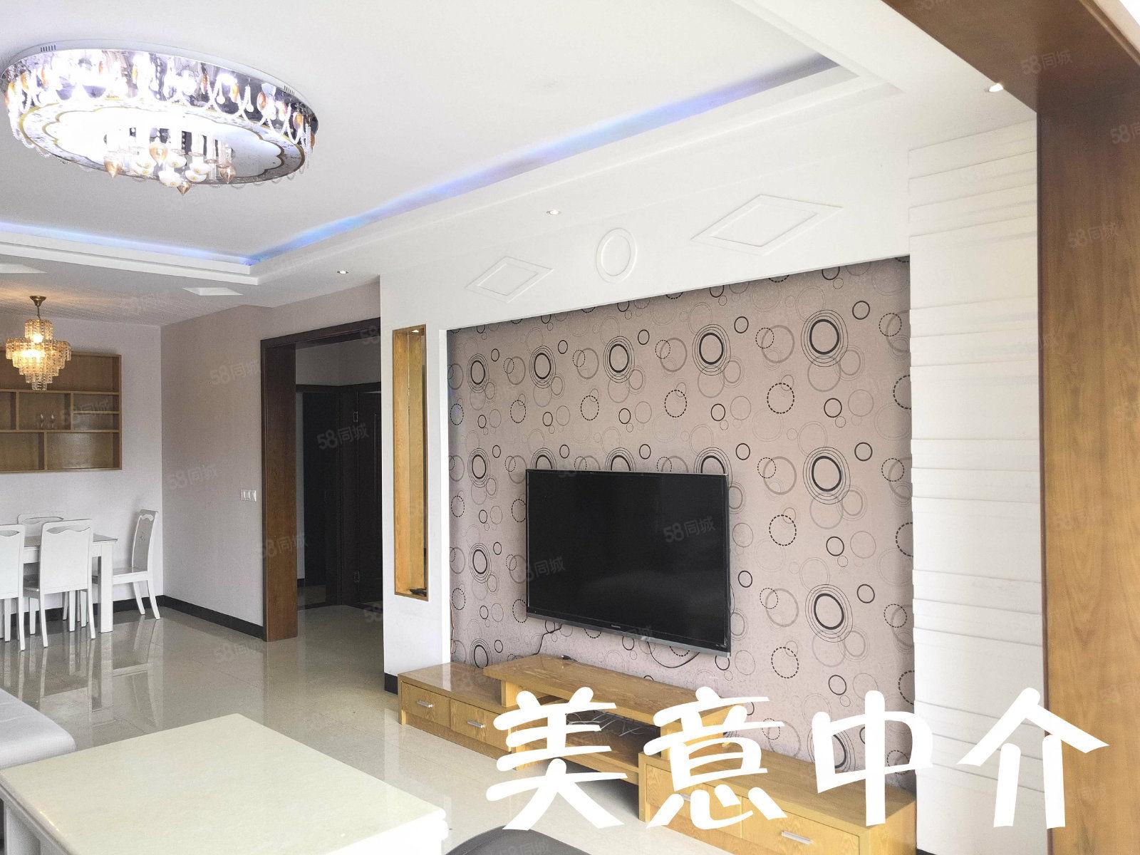 一號轉盤政府旁御景江山三室兩廳雙衛品牌家具家電齊全