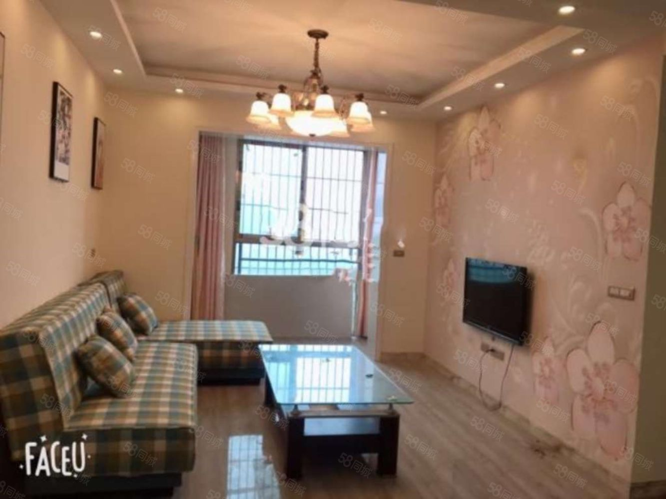 盛世芳庭2室精装出租,配套齐全,随时看房入住!
