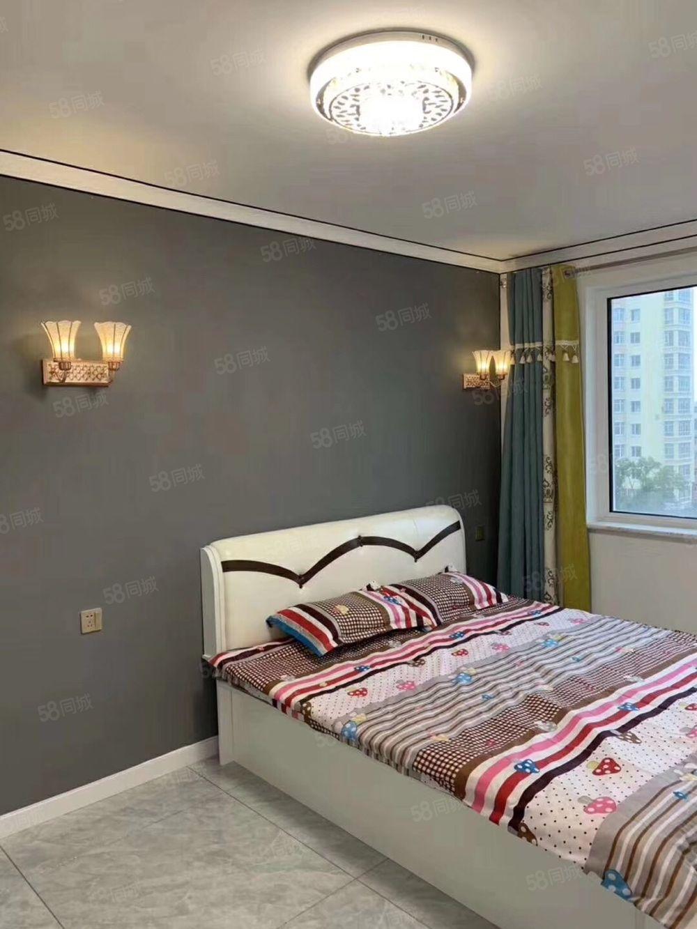 新合家园高层棚改过二,明厅,精装修,代品牌家具