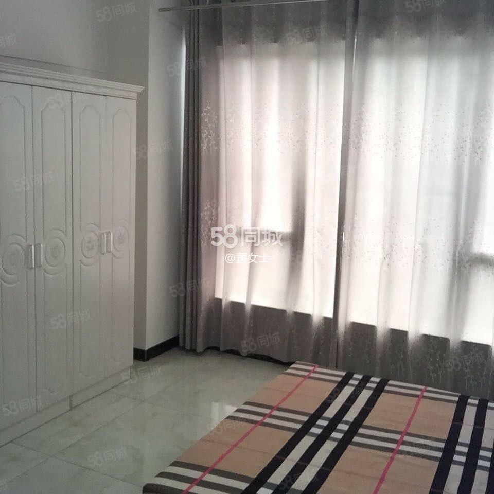麒龙国际D2栋单身公寓出租,家电齐全,拎包入住率!