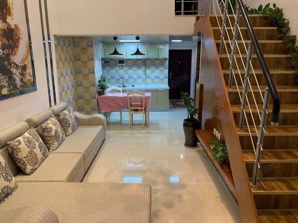 金晨蓝湾经典精装复式楼中层共10层自家房产出售