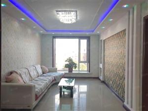 富江苑附近5楼84平地热精装大明厅落地窗首付10万可入住