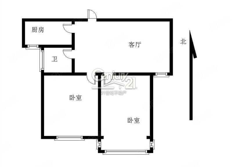 江海花园两室一厅一卫性价比高