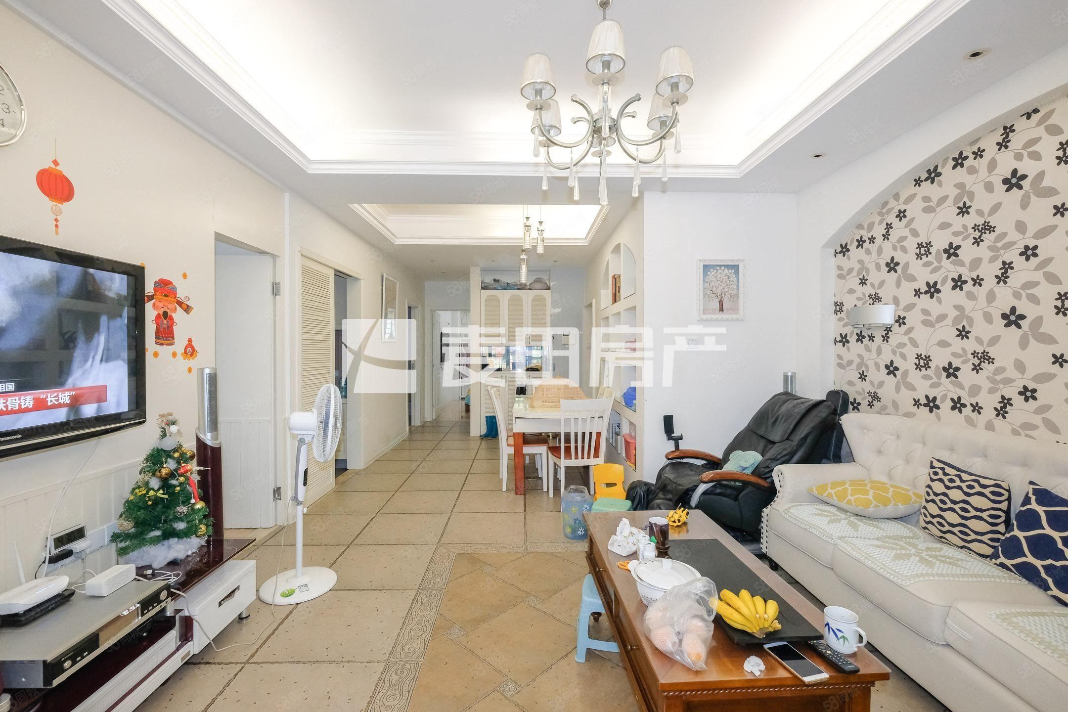 融侨物业,花园社区,稀有出售,白色调精装3房,居家养老佳选