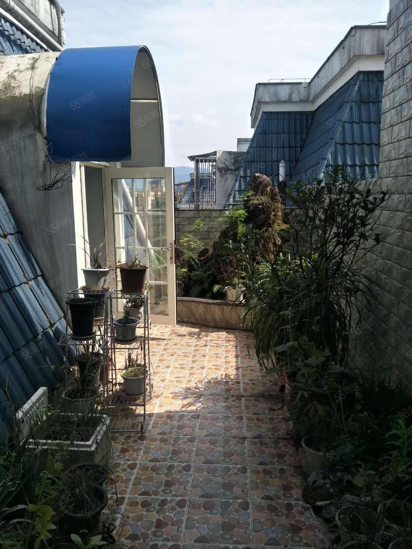出售精装河景房,楼中楼带花园洋房