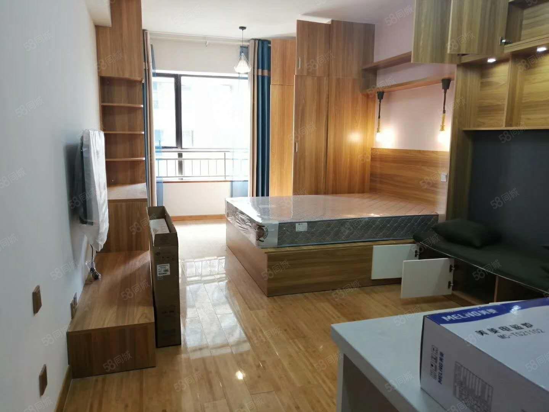 泰业国际40平公寓拎包入住