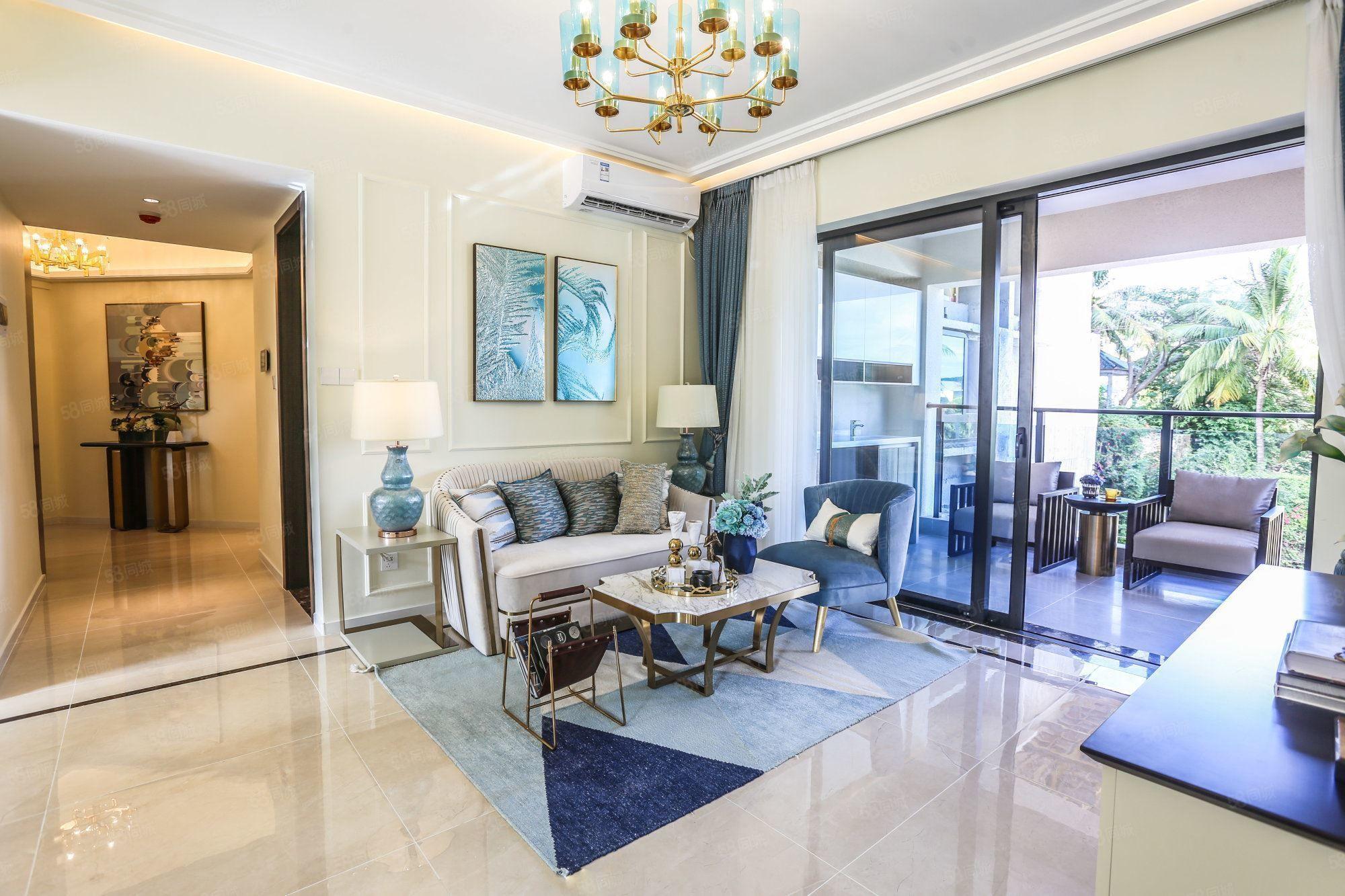 大东海繁华湾区(外地可买)奥林匹克花园舒适2加1房性价超高