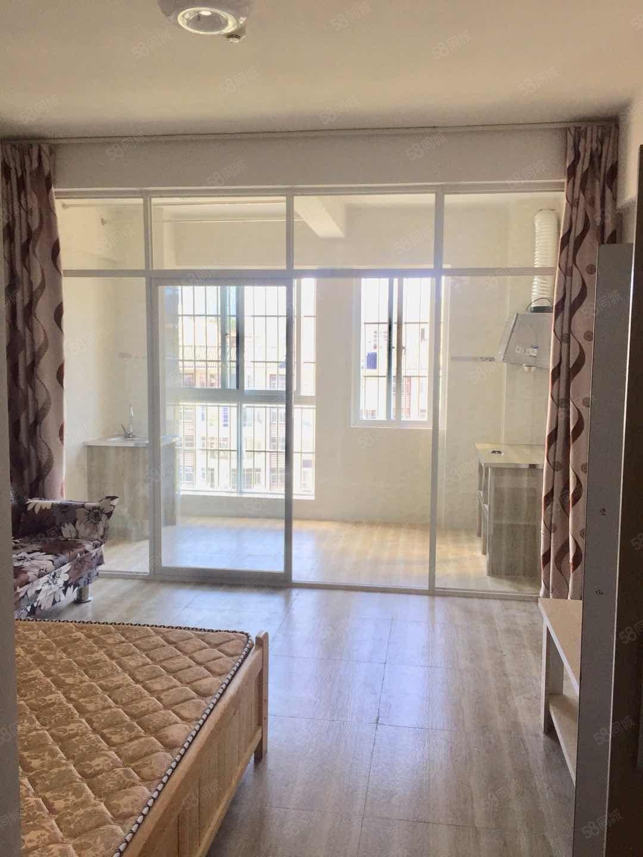 金象广场北部大象旁精装温馨公寓带家具季度付!随时看