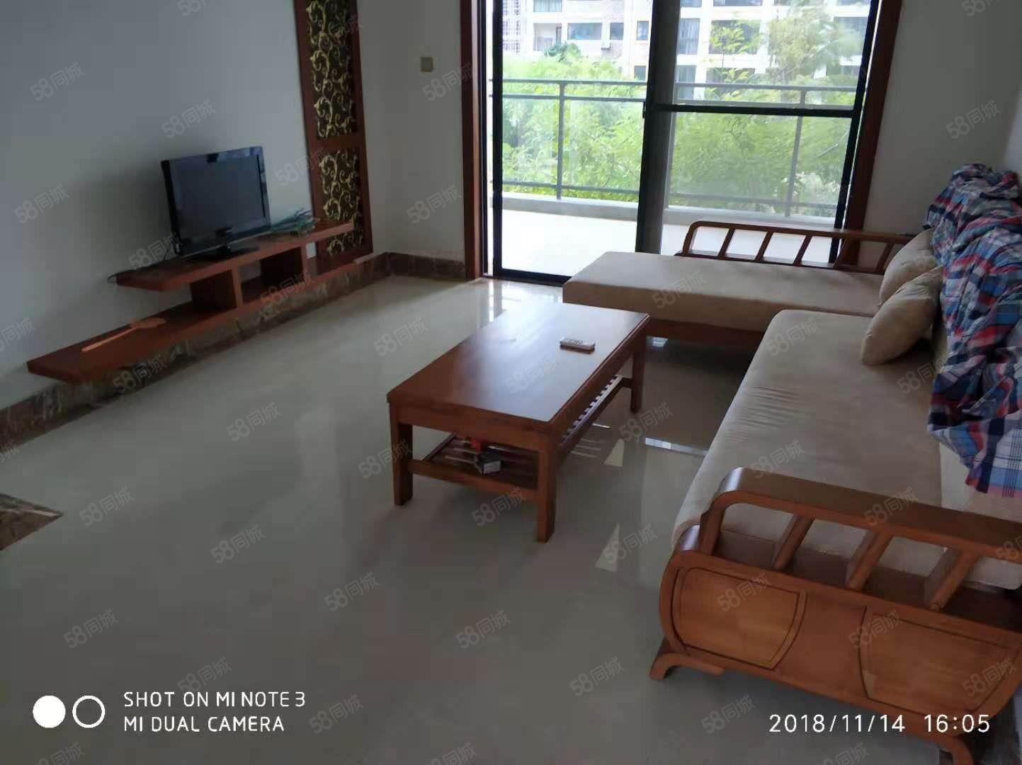 椰风海岸小区精装修两室两厅可短租一个月价格细谈