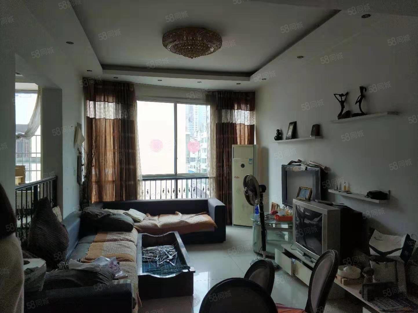 锦江广场,精装复式楼,四室,市中心,手续齐全可按揭贷关门卖