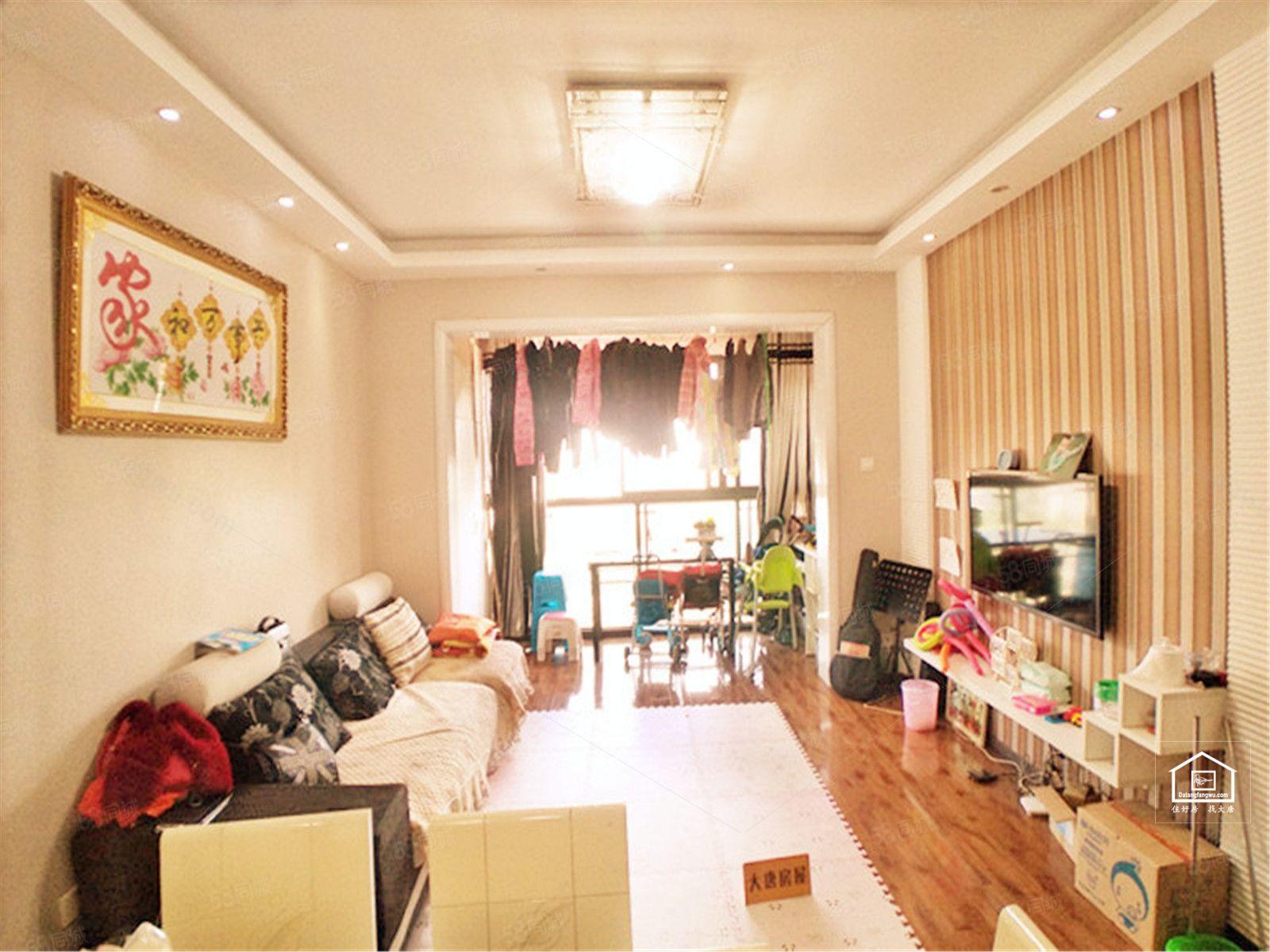 旺府豪庭超大赠送房子正对中庭朝南套二出售近地铁急卖