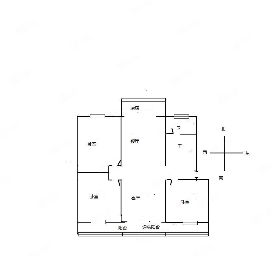 A祁孟庄交警宿舍零八年房,121平85万85万,老证带地下室