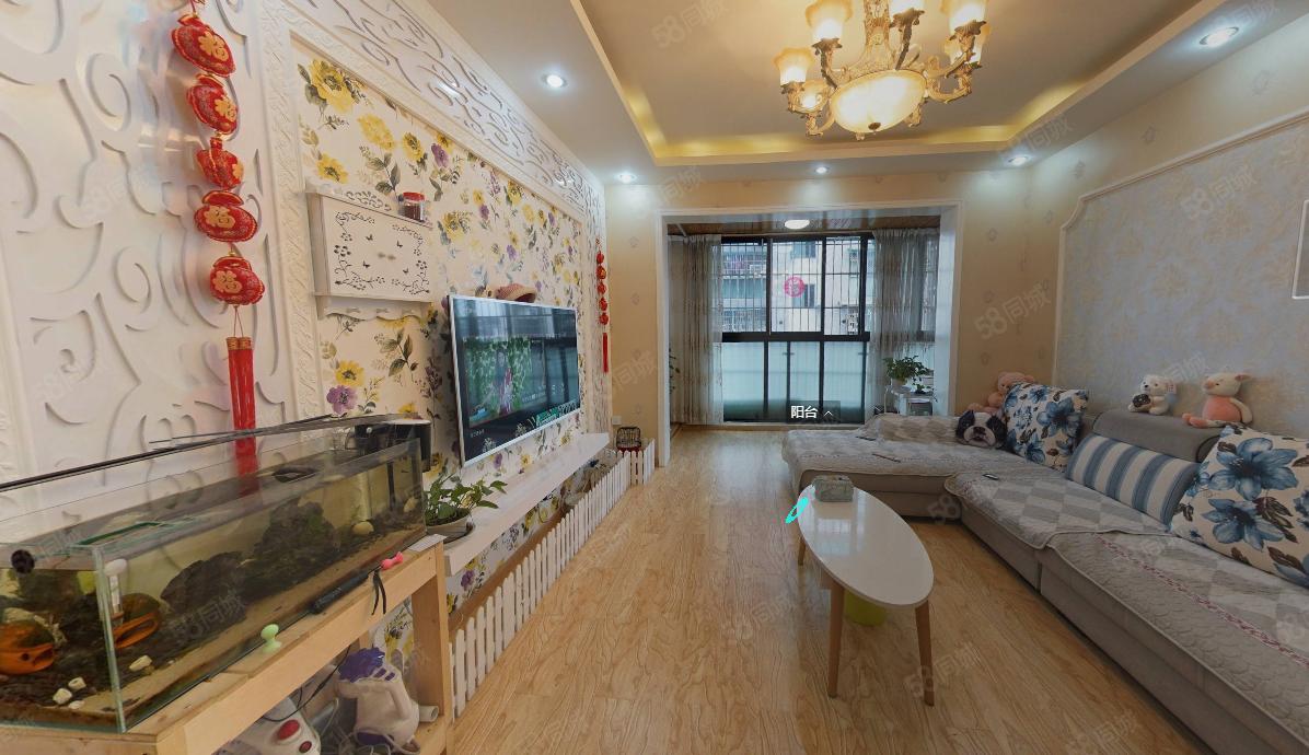 60多万的套三精装房哪里找高桥阳光三居室低于市场价十万