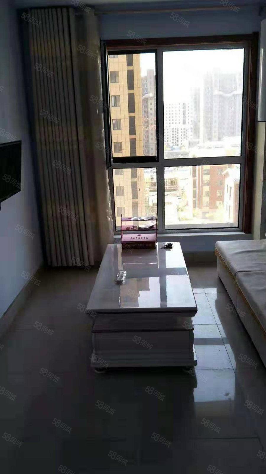 富华园电梯房  两室精装未住  带全新家具家电 拎包入住