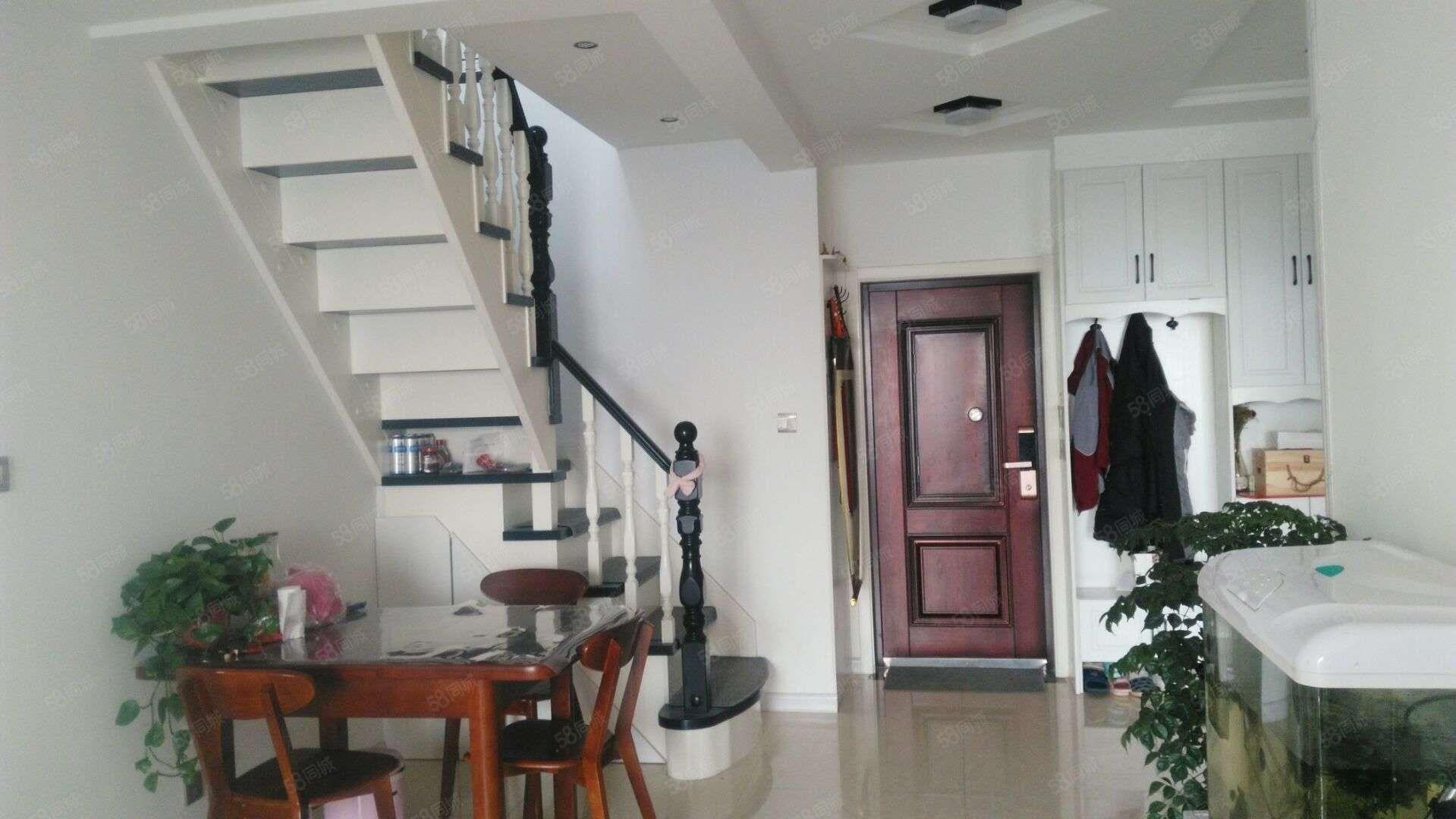 出售平安佳苑顶层复式166平,精装修拎包入住,环境优美