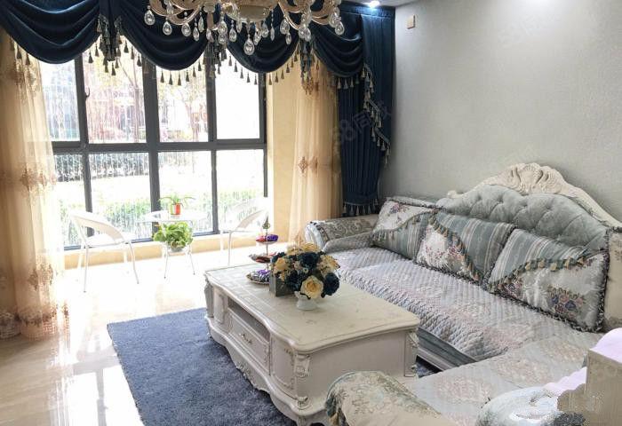 领秀城福华园!全新欧式精装大两房。送家具家电。