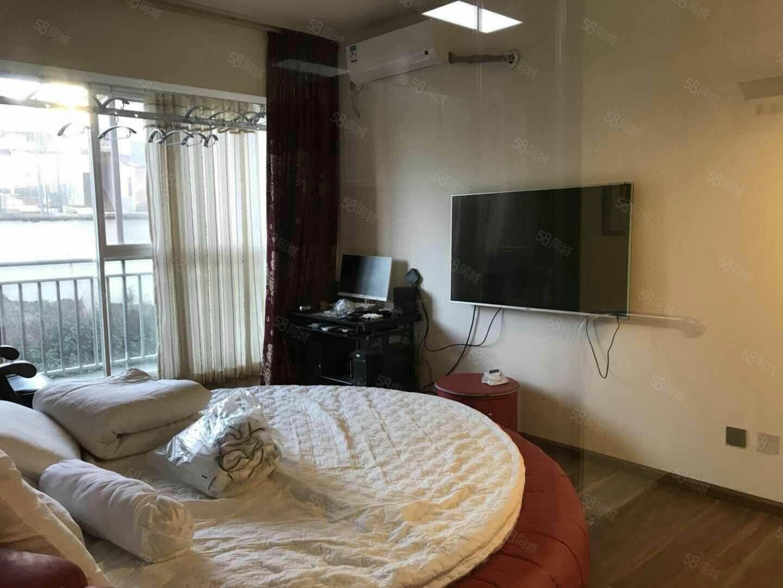 盛世庭园公寓精装修1250每个月带家具和部分家电