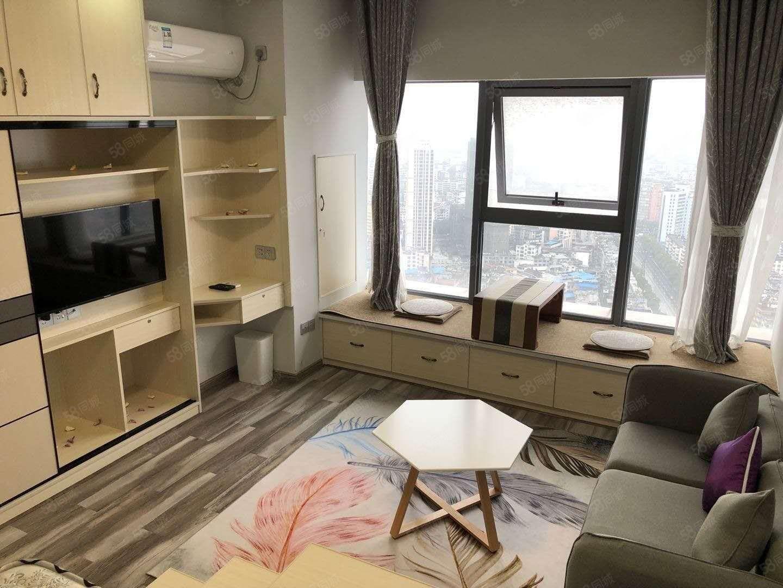潤達悅公館豪華裝修公寓出租,家具家電齊全,拎包入住