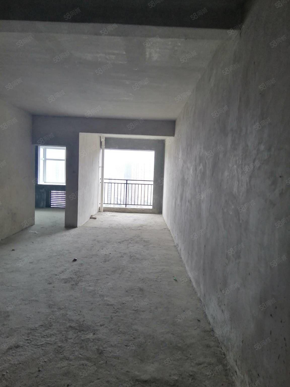 娄湖旁边书香学府2室2厅1卫毛坯房全款更名税费少