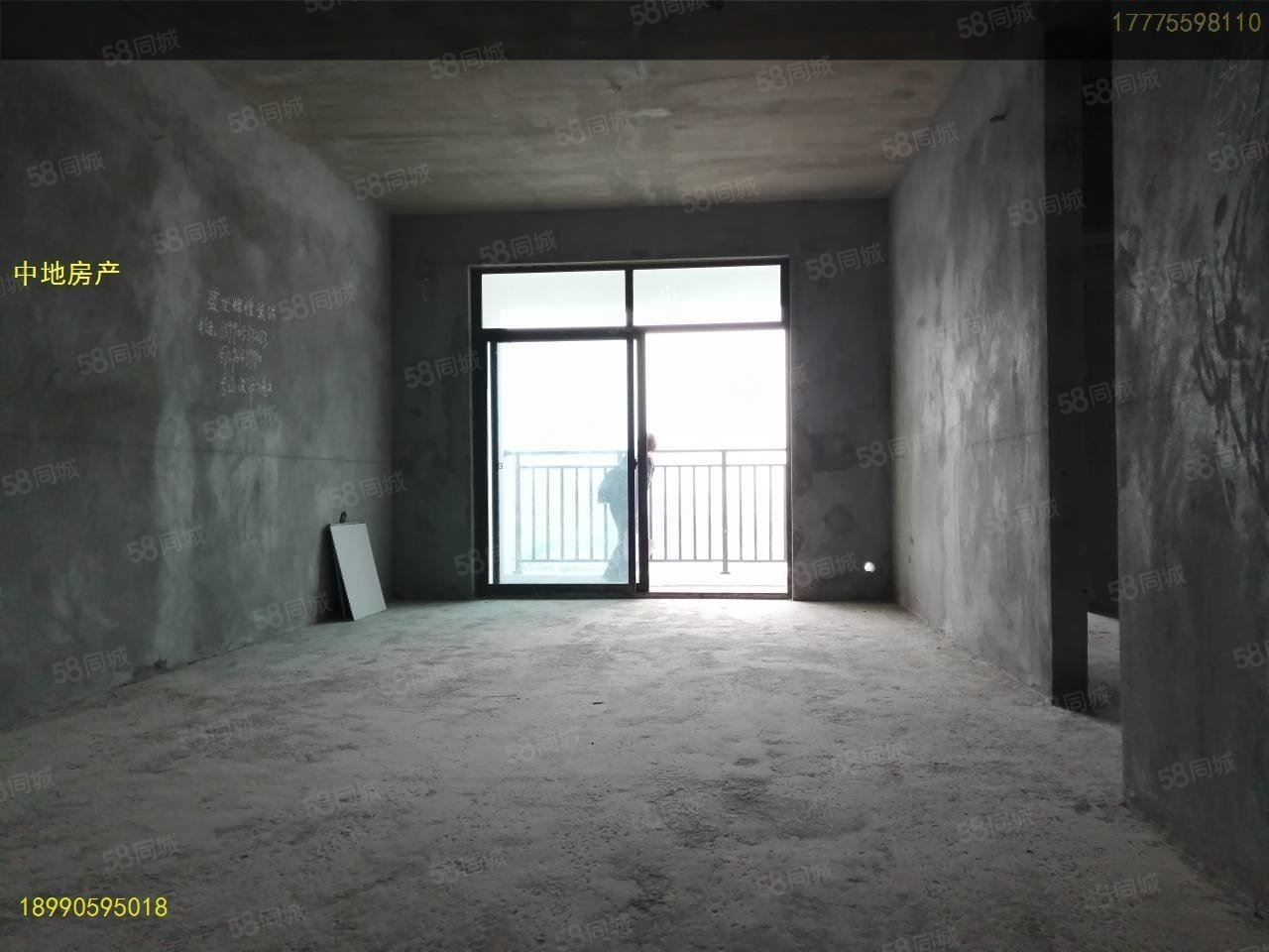 新樓盤現房單價才5800元一平米印象南城3室毛坯