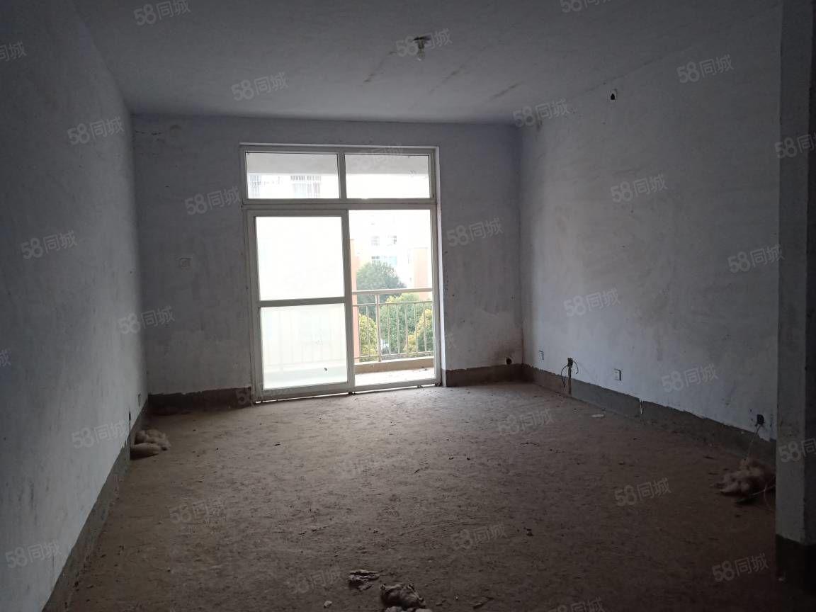 金地苑毛坯两室两厅一卫小区有地下热水有证支持按揭可过户