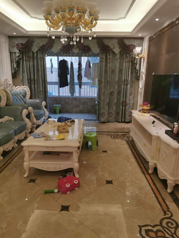 出售天兴华府3楼129平,3室2厅豪华装修,全部高档家具家电