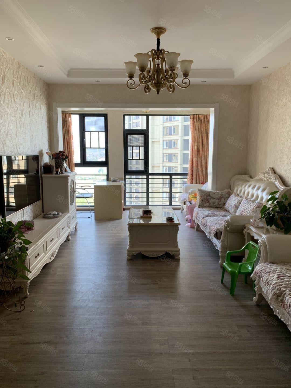 兰溪瑞园精装修95平3室带地下车位加储藏室户型格局好环境优美