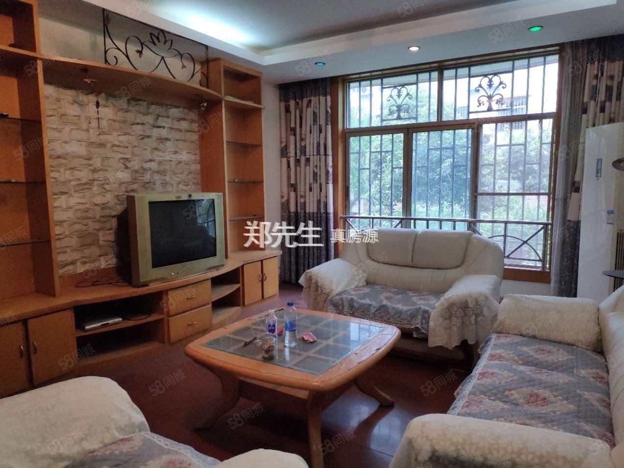 明珠小區多層1樓大三室精裝修帶花園送柴房
