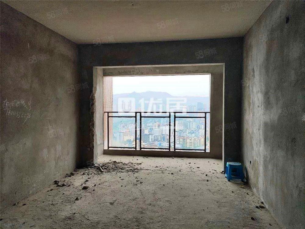 江北尚上城清水房2室2厅2卫支持按揭即买即装视野超好