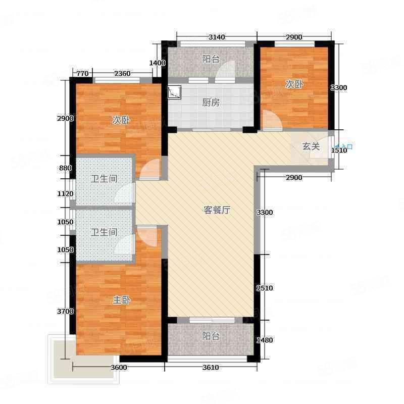 碧桂园南北通透大三房,有证税满两年可按揭正常首付