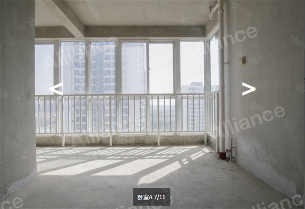 江边海德理想城电梯中间楼层毛坯产证在手可按揭三房朝南
