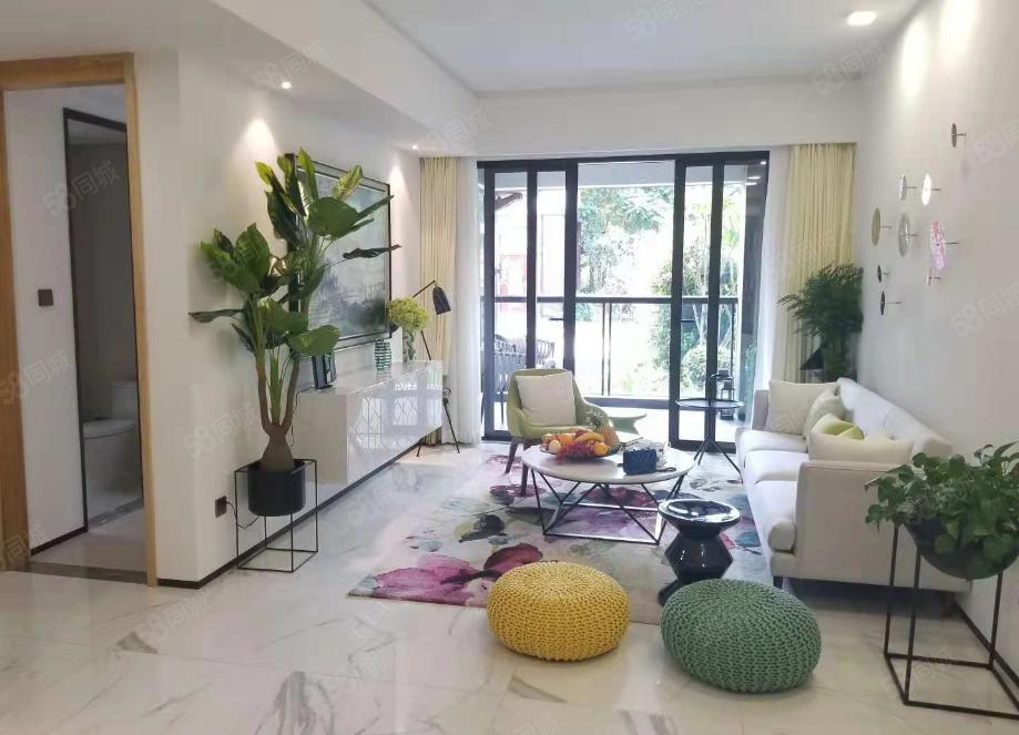海棠湾8号温泉公馆花园洋房纯板楼设计舒适两房户型正