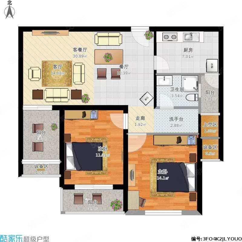 中华世纪城准现房可按揭贷款6200元平带车位