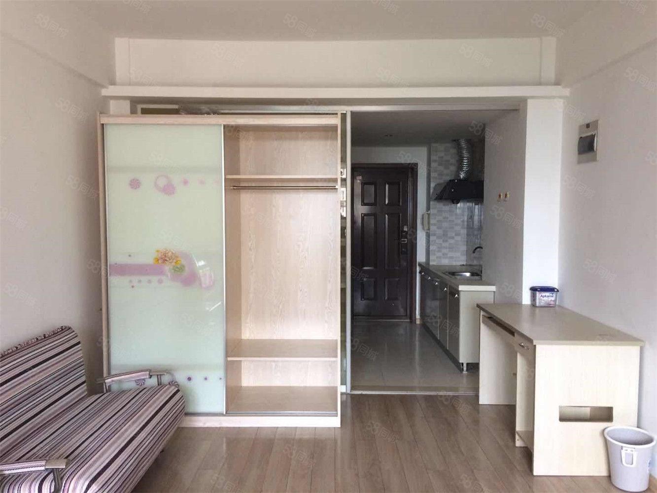 大洋街道湖畔尙城電梯高層空學位精裝修單身公寓家具家電齊全