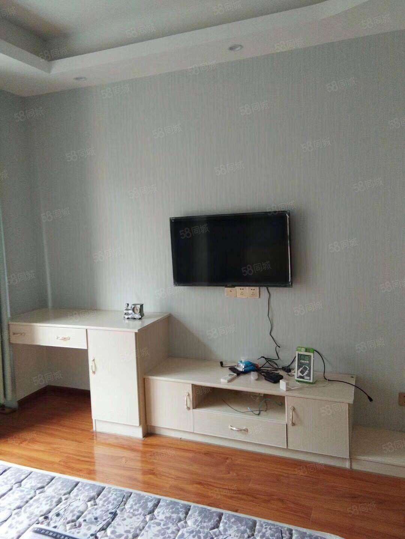 可以短租月付的泰鑫现代城精装全配单身公寓1400包物业