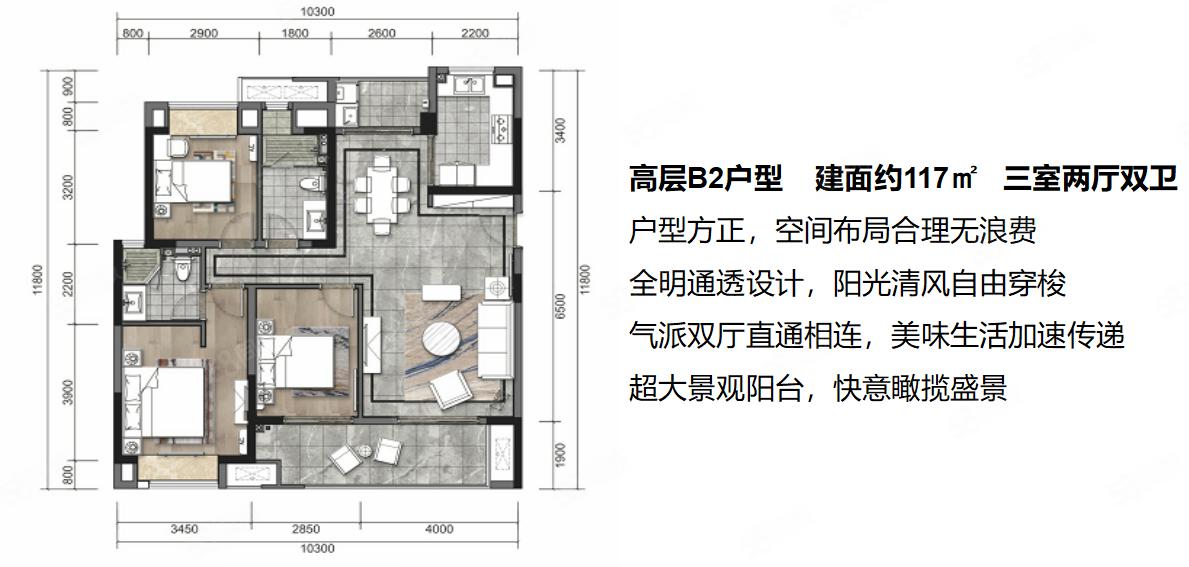 成都万达城旁,都江府精装洋房,高档住宅现已发售,带空调,地暖
