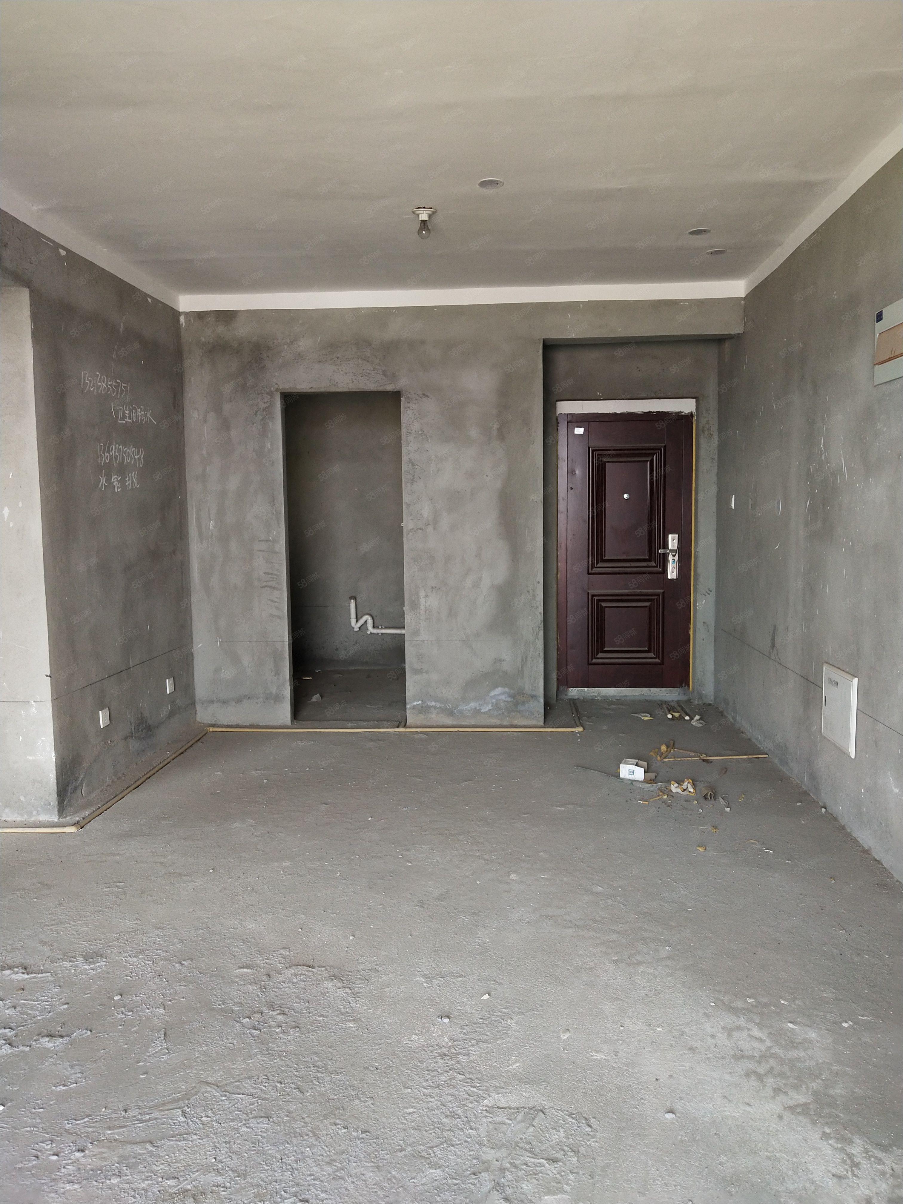 林溪谷毛坯兩室有證滿二可貸款,南戶通陽臺,看房方便電梯好樓層