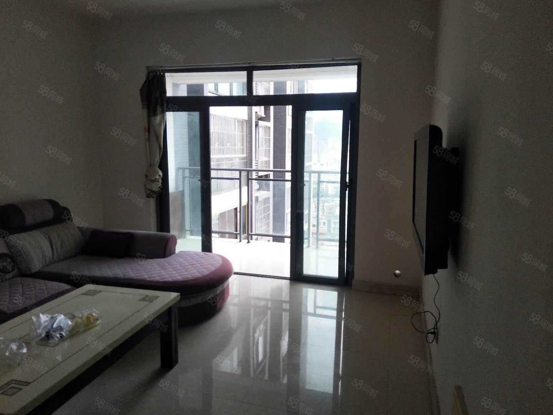 通佛路中央公馆电梯公寓两室两厅一卫家具家电齐全拎包入住