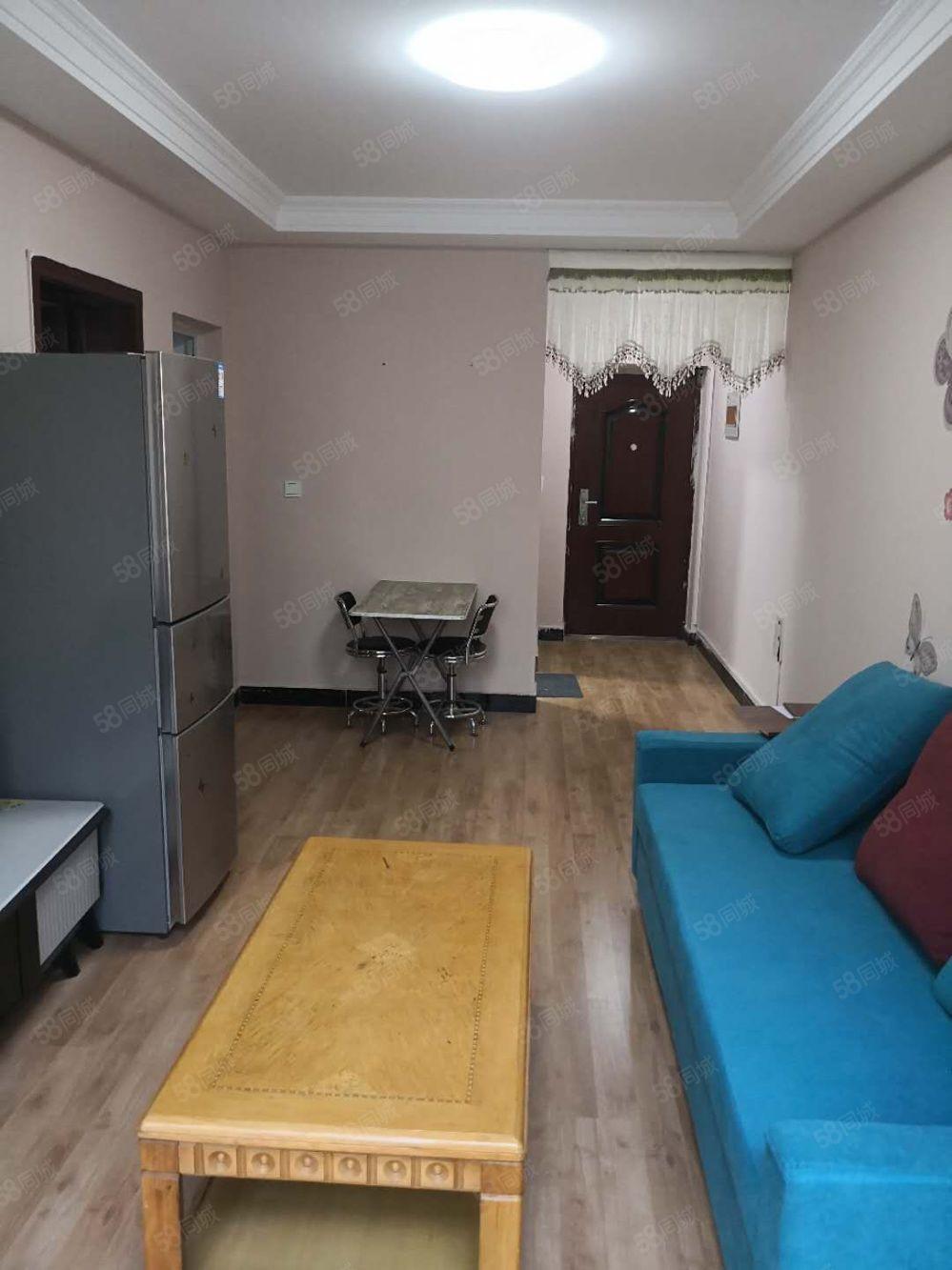 陶行社區步梯六樓南向精裝一室一廳一廚一衛拎包入住年租7200